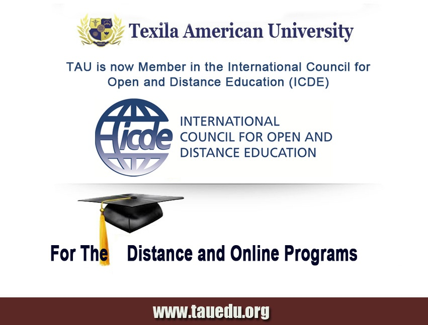 Texila Approved by ICDE