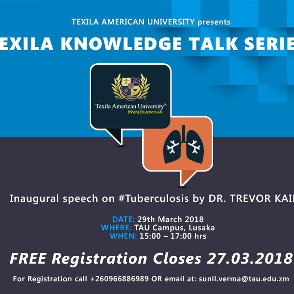 talk series on Tuberculosis