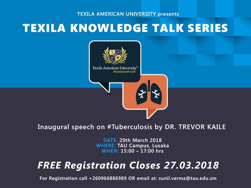 talk series on Tuberculosis