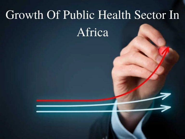 growth of public health