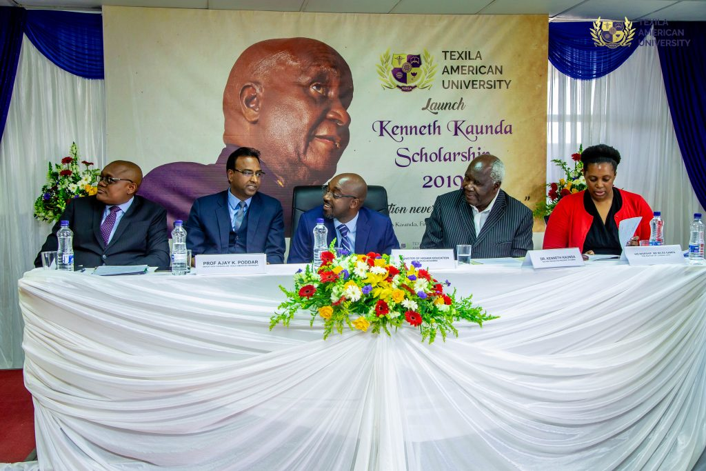 kenneth kaunda scholarship launch