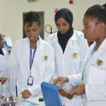 Texila Students at chemistry lab