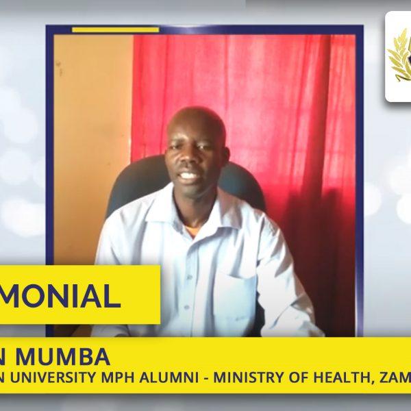 Mph student mumba