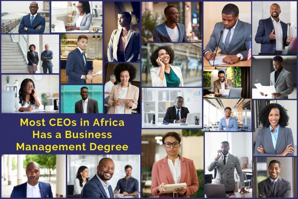 Did You Know Most CEOs in Africa Have Completed an MBA Course