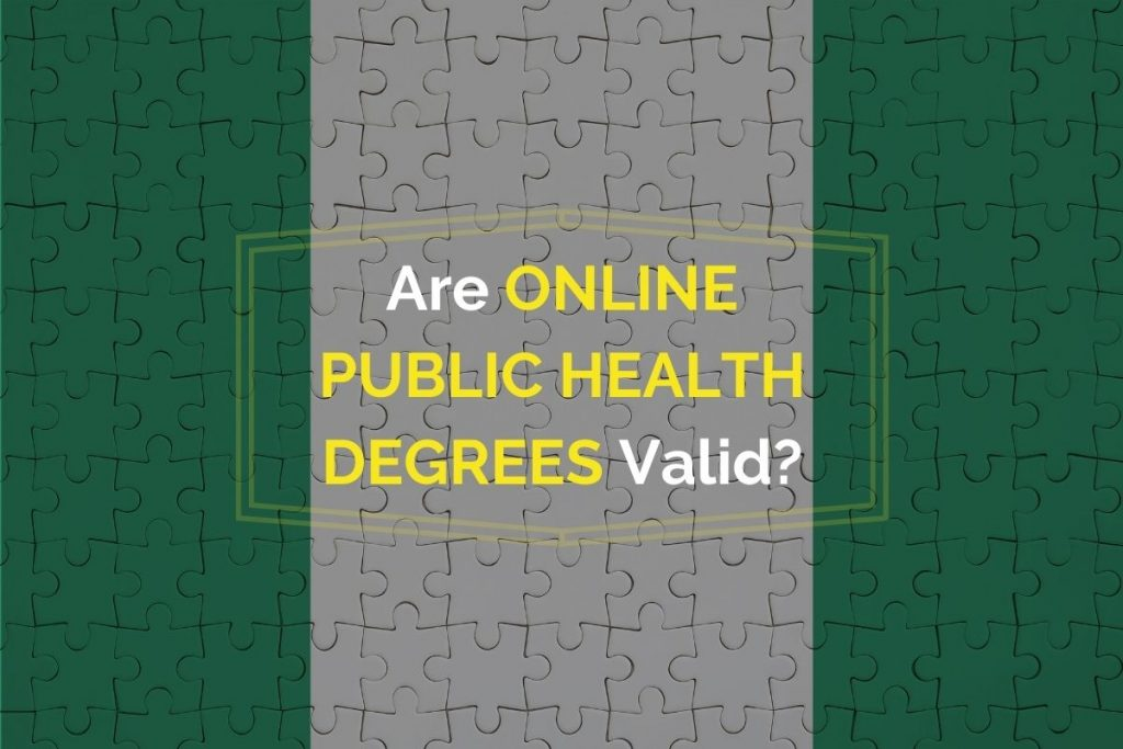 Are Online Public Health Degrees Valid in Nigeria