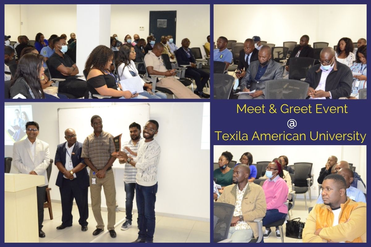 Meet and Greet Event at Texila American University