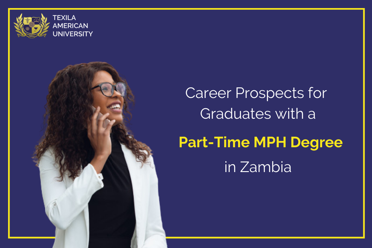 Study part-time MPH in Zambia