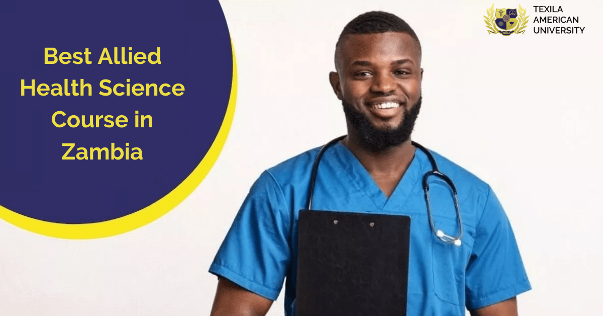 Allied Health Science Course in Zambia