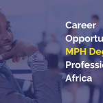 Career Opportunities for MPH Degree