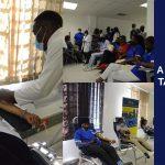 Blood Drive at Texila Zambia Campus