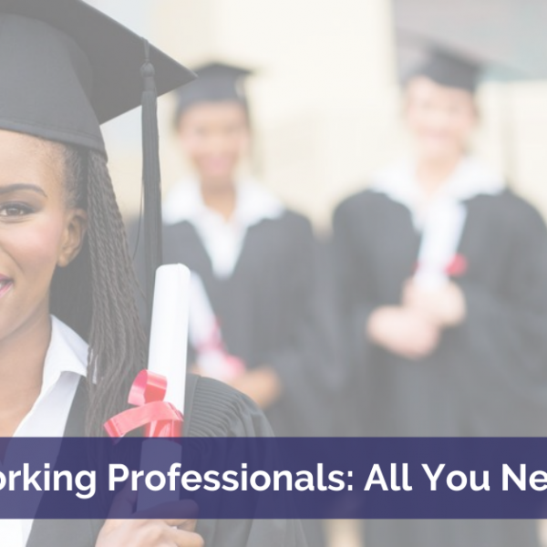 MBA degree for Working Professionals